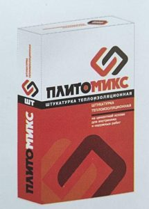 Штукатурка теплоизоляционная Плитомикс